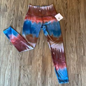 Beyond yoga watercolor leggings